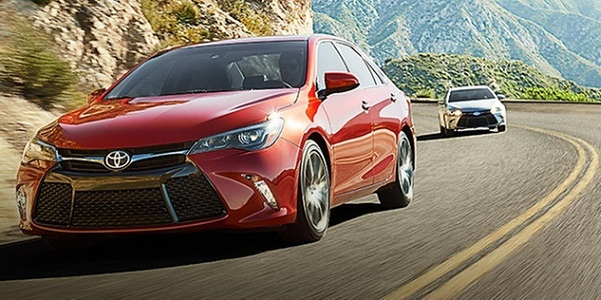 Wallpaper All New Camry