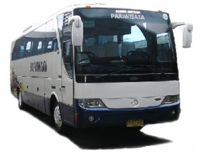 Wallpaper Bus Pariwisata New