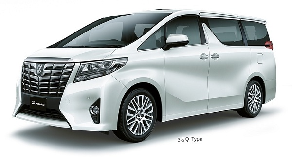Wallpaper Alphard New